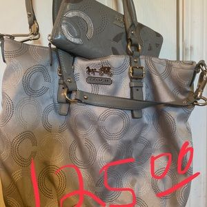 Coach purse with wallet $125.00